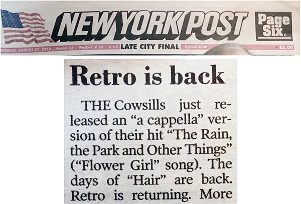 NY Post - Retro is Back
